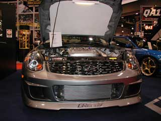 G35 GReddy Front Mount Intercooler