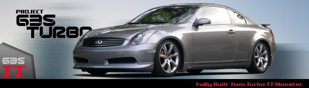 Project Infiniti G35 Coupe Turbo